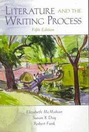Cover of: Literature and the Writing Process, Fifth Edition