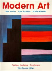 Cover of: Modern art: painting, sculpture, architecture