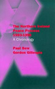 Cover of: The Northern Ireland peace process, 1993-1996