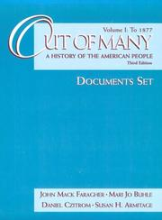 Cover of: Out of Many: A History of the American People to 1877
