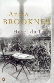 Cover of: Hotel du Lac