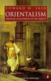 Cover of: Orientalism