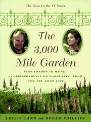 Cover of: The 3,000 Mile Garden