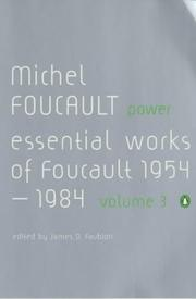 Cover of: Power (Essential Works of Foucault 3)