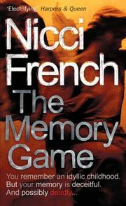 Cover of: The Memory Game
