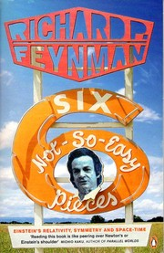 Cover of: Six Not-so-easy Pieces