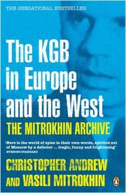 Cover of: The Mitrokhin Archive