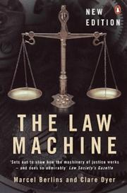 Cover of: The Law Machine