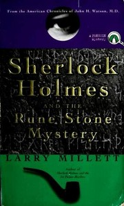 Cover of: Sherlock Holmes and the Rune Stone Mystery (Sherlock Holmes Mysteries (Penguin))
