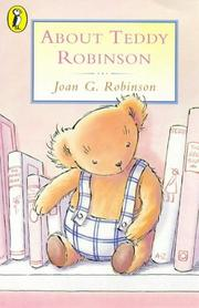 Cover of: About Teddy Robinson (Young Puffin)