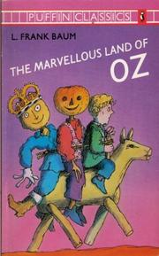 Cover of: The Marvellous Land of Oz