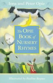 Cover of: Nursery Rhymes, The Opie Book of