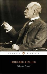 Cover of: Selected Poems Rudyard Kipling