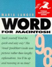 Cover of: Word 98 for Macintosh