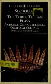 Cover of: The Three Theban Plays