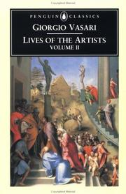 Cover of: Lives of the Artists Volume 2