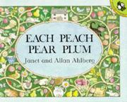 Cover of: Each Peach Pear Plum (Picture Puffin)