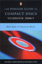 Cover of: Compact Discs Yearbook 2000/1, The Penguin Guide to (Penguin Guide to Compact Discs and Dvds Yearbook)