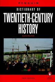 Cover of: The Penguin Dictionary of Twentieth-Century History
