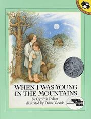 Cover of: When I Was Young in the Mountains (Reading Rainbow Books)