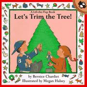 Cover of: Let's Trim the Tree (Lift-the-Flap)