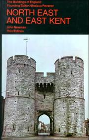 Cover of: North East and East Kent (Buildings of England)