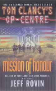 Cover of: Mission of Honour (Tom Clancy's Op-centre)