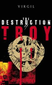 Cover of: The Destruction of Troy