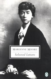 Cover of: Selected Letters (Moore, Marianne)