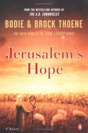 Cover of: Jerusalem's Hope (The Zion Legacy, Book VI)