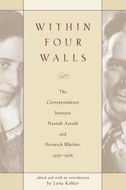 Cover of: Within four walls