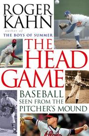 Cover of: The Head Game: Baseball Seen from the Pitcher's Mound