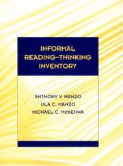 Cover of: Informal Reading-Thinking Inventory: an informal reading inventory (IRI) with options for assessing additional elements of higher- order literacy