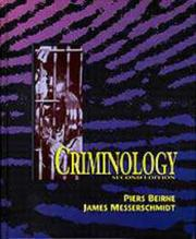 Cover of: Criminology