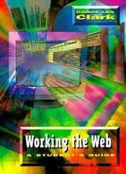 Cover of: Working the Web