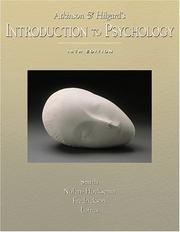 Cover of: Atkinson and Hilgard's Introduction to Psychology (with Lecture Notes and InfoTrac )