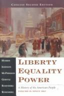 Cover of: Liberty, Equality, Power - Concise Second Edition, Volume II