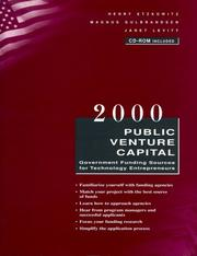 Cover of: Public Venture Capital
