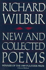 Cover of: New and Collected Poems (Harvest Book)