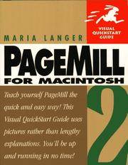 Cover of: PageMill 2 for Macintosh