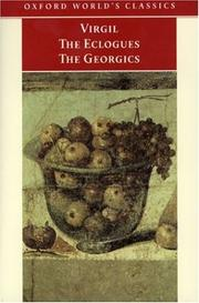 "Cover of: The ""Eclogues"" and ""Georgics"""