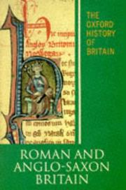 Cover of: The Oxford History of Britain: Volume 1
