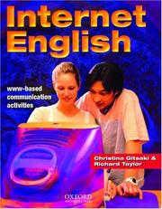 Cover of: Internet English