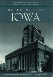 Cover of: Buildings of Iowa (Buildings of the United States)