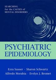 Cover of: Psychiatric Epidemiology