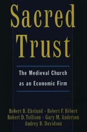 Cover of: Sacred Trust