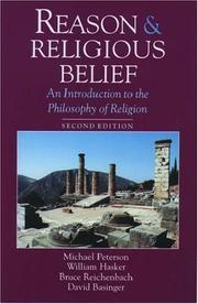 Cover of: Reason and Religious Belief