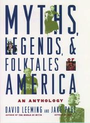 Cover of: Myths, Legends, and Folktales of America: An Anthology