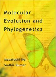 Cover of: Molecular Evolution and Phylogenetics