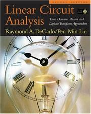 Cover of: Linear Circuit Analysis